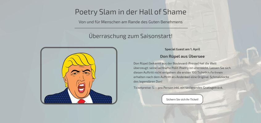 Beispiel-Webseite Performance_Poetry Slam