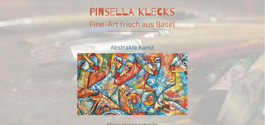 Beispiel-Webseite Kunst_Malerei