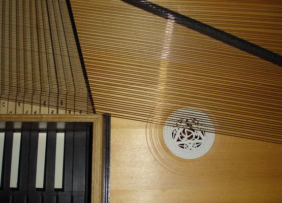 ungebundenes Clavichord nach Johann-Augustin Straube, Berlin 1793_Detail