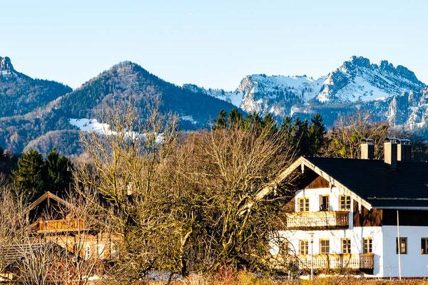 ferienwohnung-chiemsee-familienfeier-bergblick