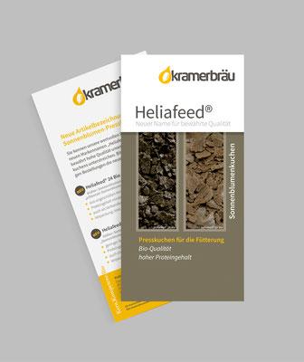 Infoflyer Produktnamenänderung Heliafeed®