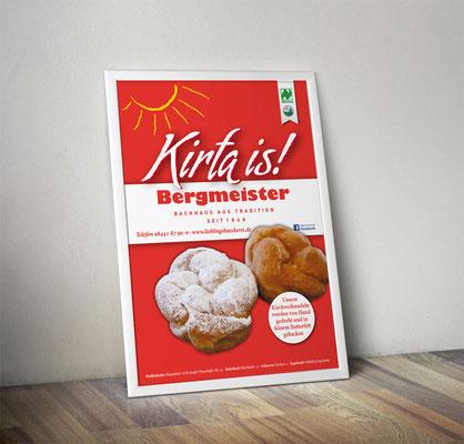 Plakat/Deckenhänger - Kirchweihnudeln