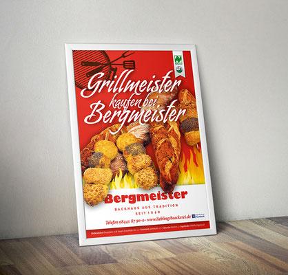 Plakat/Deckenhänger - Grillbrote