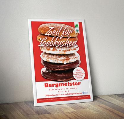 Plakat/Deckenhänger - Lebkuchen