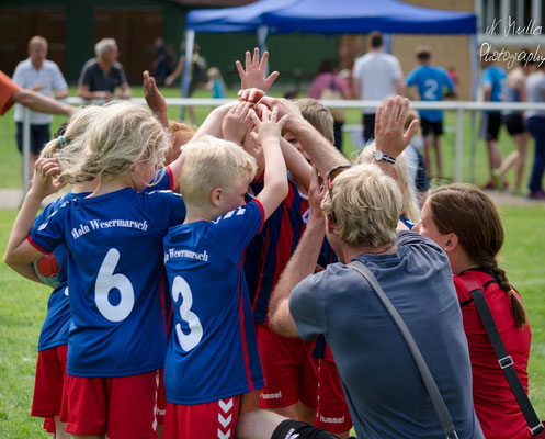 MOIN Wesermarsch Tag der Handball Jugend 2017