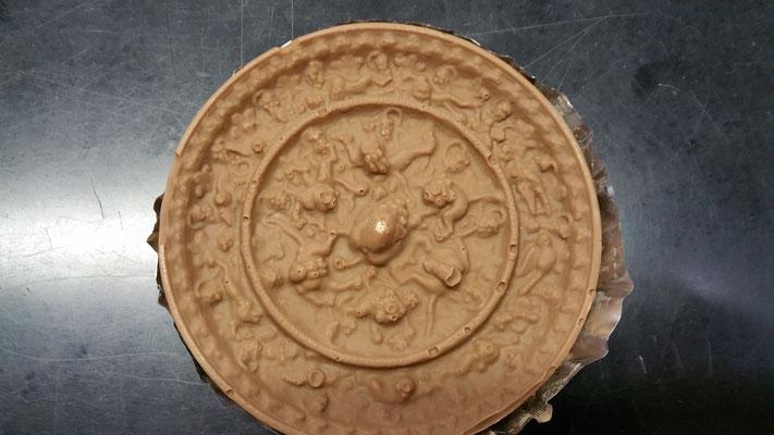 銅鏡チョコ