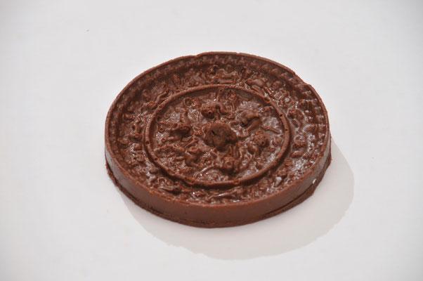 チョコ銅鏡