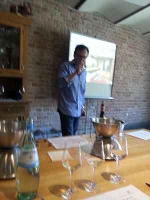 Weinseminar mit Herrmann Mengler