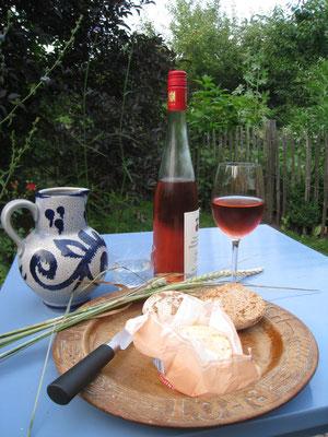 VDP Terassenwein Rosé in stilvollem Ambiente