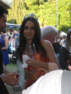 Die syrische Weinkönigin 2016 von Trier