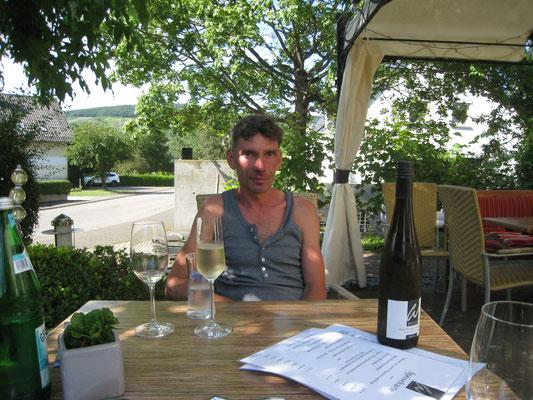 Weinprobe im Weingut Weich