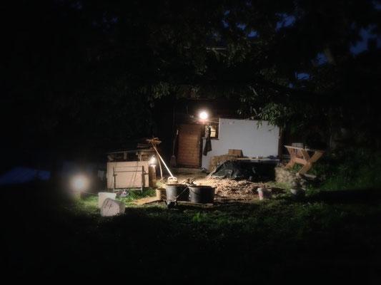 Nachtbaustelle von Rasmus