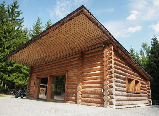 Waldhütte der Gemeinde Bonaduz