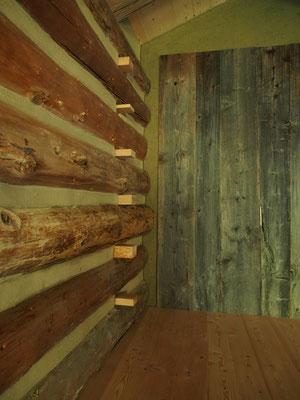 Holz und Lehm...