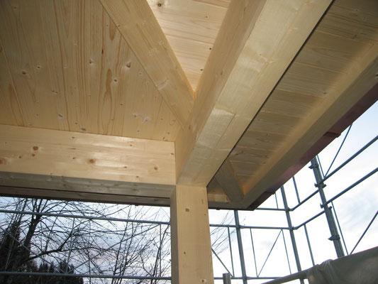 Konstruktion Vordach