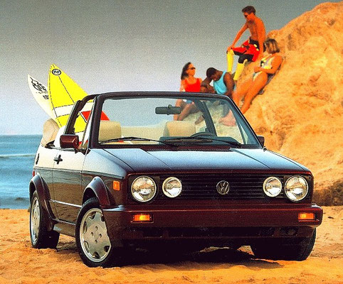 wholesale price for whole family excellent quality Golf 1 Cabrio
