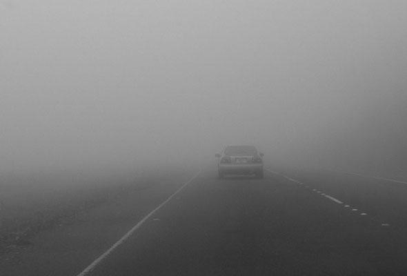 Nevoeiro visto em 08/10/2005. Foto de Greg Barber.