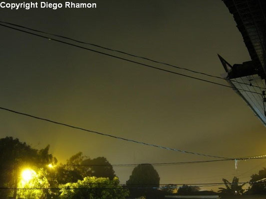 Nevoeiro visto em João Pessoa, Paraíba, em 03/05/2011.
