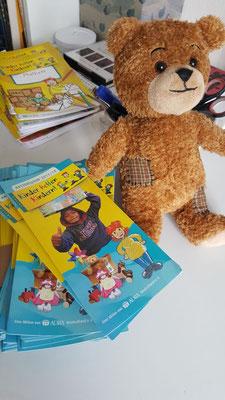Kinder helfen Kindern Teddybär Herbstmarkt Celle Groß Hehlen 2017 Bunt