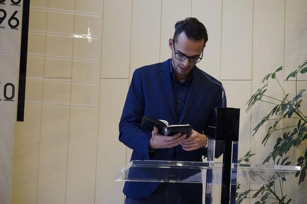 Jugend predigt Erntedank