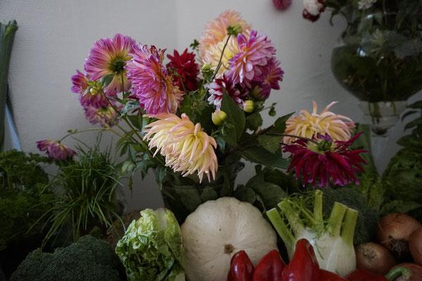 Erntedank Blumen