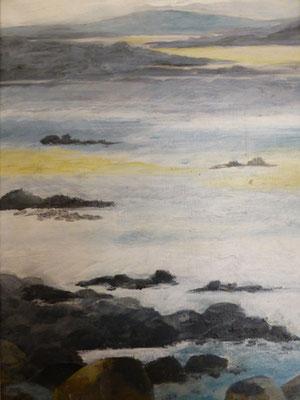 Marée basse en Bretagne 2    21x32