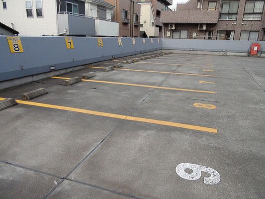 ③駐車場入り口: 9番番以降は居住者さんの駐車場です.  横浜yokohama港北都筑花粉症インフルエンザワクチン予防接種価格1000円赤ちゃん子供