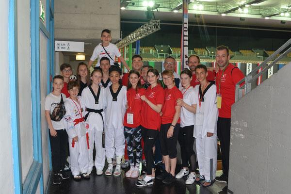 Taekwondo RLZ Wattwil Austrian Open 1