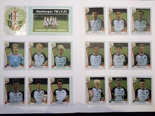 Mit allen Starspielern der 1.F gibt es jetzt pünktlich zur neuen Saison das Sammelheft! Der absolute Knaller auf den Harburger Schulhöfen. ;-)