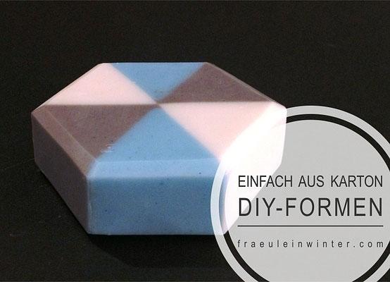 DIY-Seifenformen aus Karton