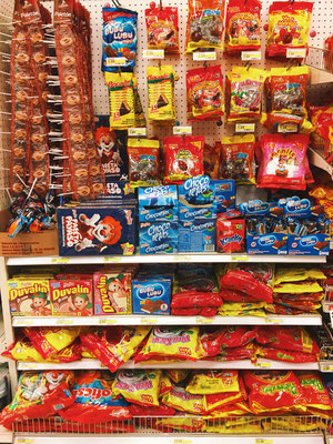 Although Target does not offer a rich selection like a Mexican dulceria, it does offer a fair and satisfying selection of Mexican candy.
