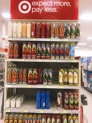 Prayer candles are a staple in Catholic households, Target  offers them for less than $2.