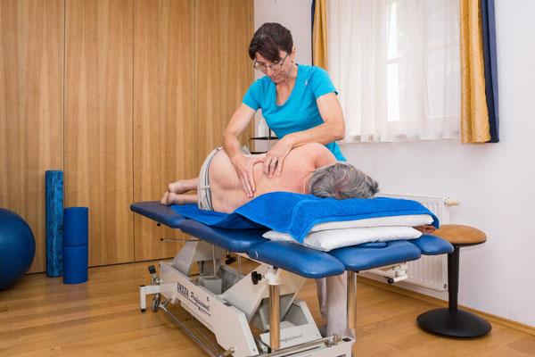 Massagen auf Anfrage im Attersee-Chalet