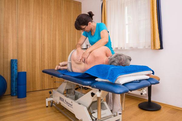 Massage auf Anfrage