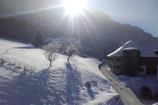 Winterstimmung vom Hof Angermann
