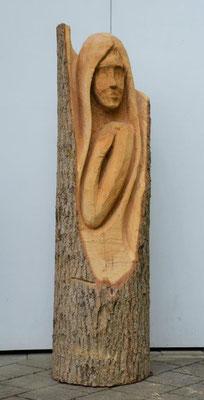 Junge Frau  135cm   Eschenholz geölt