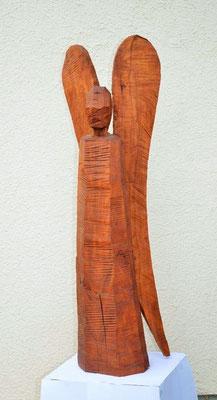 Engel  100cm  Birnbaum gebeizt und geölt