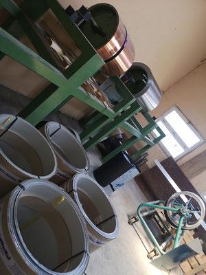Stock bobine zinc permanent