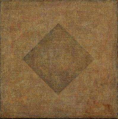Diagram                                 22.0×22.0cm   oil on canvas
