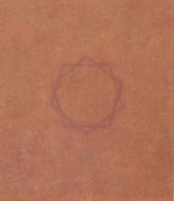 Diagram                            53.0×45.5㎝  oil on canvas