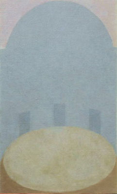静かな夢 / Calm Dream  33.3×19.0cm oil on canvas