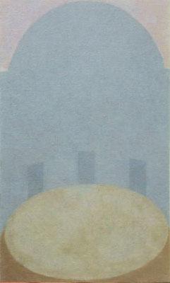 静かな夢 / Calm Dream  33.3×19.0cm oil on canvas