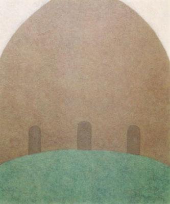 楽園 / Paradise  60.6×50.0cm oil on canvas