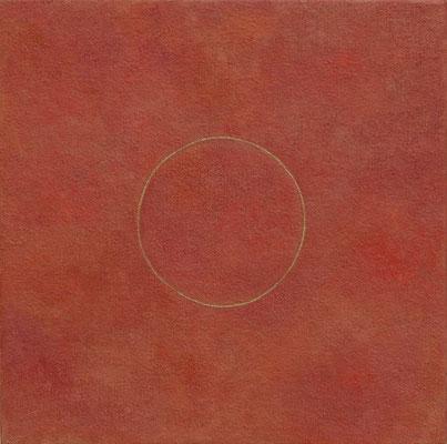 錬金術師の夢   dream of alchemist                                27.3×27.3m    oil on canvas