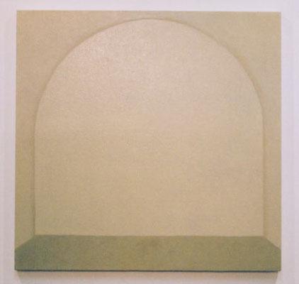 虚ろな偶像  /   Hollow Idol      72.7×72.7cm         oil on canvas