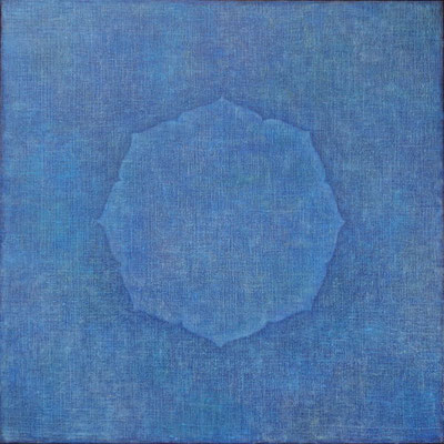 Blue Inspiration                                                                            45.5 ×45.5㎝  oil on canvas