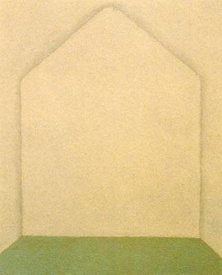 親密な場所  /   Close place         27.3×22.0cm        oil on canvas