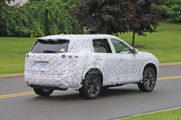 Nissan Rogue (X-Trail) en test aux Etats-Unis