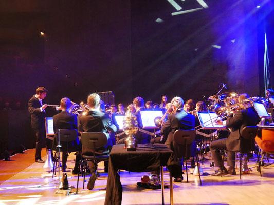 """Konzert """"Brass in Concert"""" im Audimax der Universität Regensburg (13.10.2019)"""