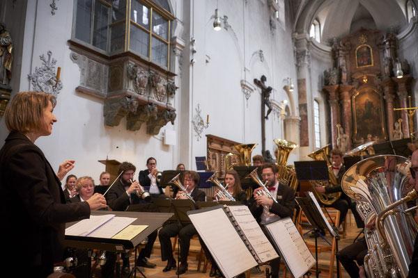 """Mittagsmusik """"Kurz nach Zwölf"""" in der Niedermünsterkirche Regensburg (09.03.2019)"""